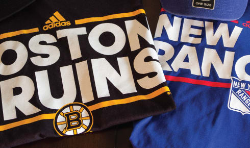 NHL Jersey's, Apparel, and Hats