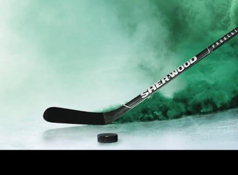 New Sher-Wood Hockey Stick
