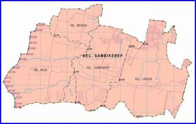 Peta Surabaya Barat