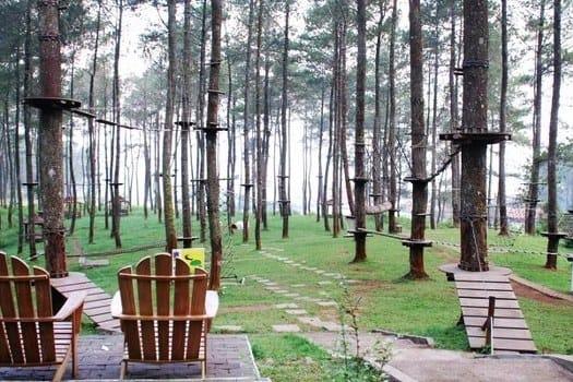 Bandung Tree Top Adventure Park Cikole