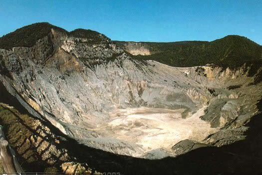 Kawah Gunung Tangkuban Perahu, Jawa Barat