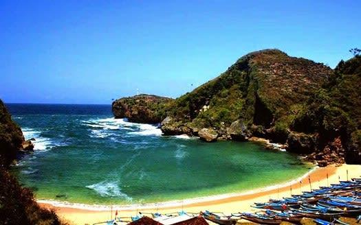 Pantai Baron Jogja