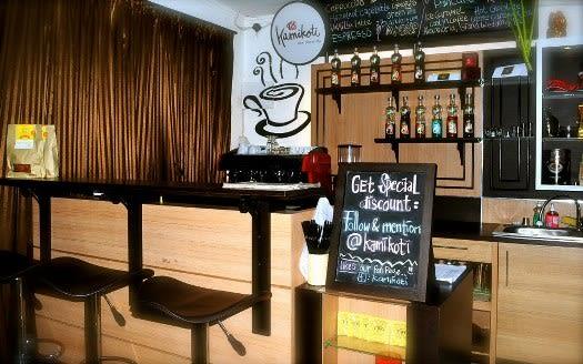 Komikoti Cafe Jogja