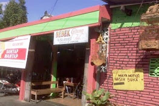 Rumah Makan Bebek Goreng H Slamet Kartosuro (ASLI)