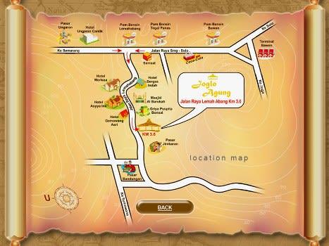 Peta Joglo Agung Resto & Gallery