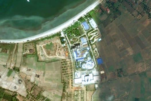 Jepara Ocean Park Tampak Via Google Earth