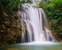 Air Terjun Grojogan Sewu Tawangmangu, Karanganyar, Jawa Tengah