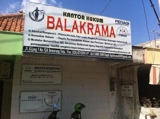 Kantor Hukum BALAKRAMA Semarang