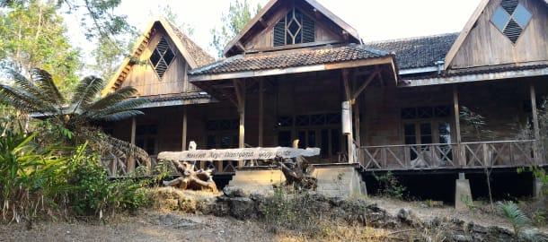 Museum Kayu Wanagama Gunung Kidul Jogja