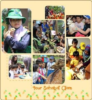 Tour Sahabat Alam di Jendela Alam
