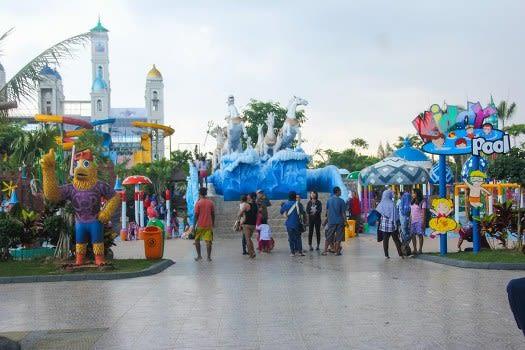 Wahana Air di Jepara Ocean Park