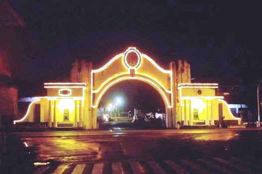 Gerbang Alun Alun Kidul Kota Solo
