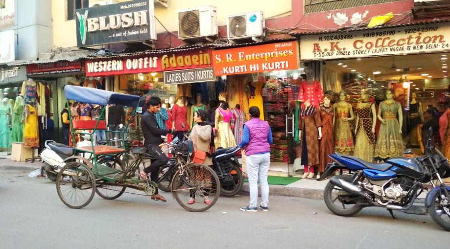 Shopping Trail Though Lajpat Nagars Amar Colony