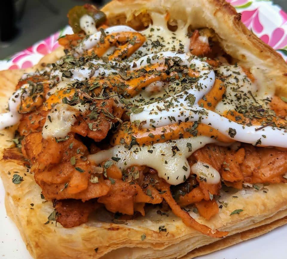 Image result for Tandoori Pasta Patty