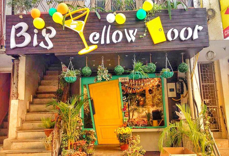 Big Yellow Door Satya Niketan Nearest Metro Station - The Door