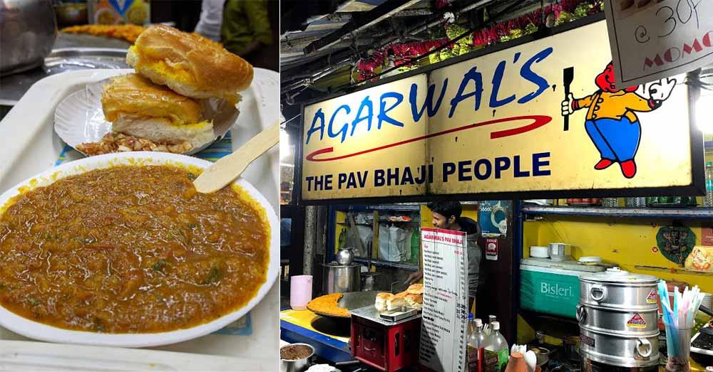 Agarwal's Pav Bhaji In Park Street, Kolkata   So Kolkata