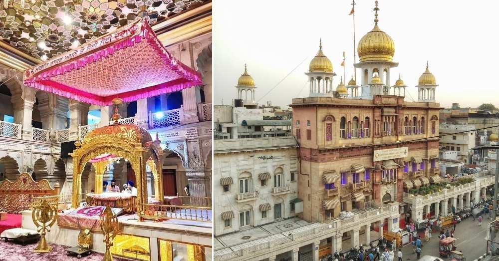 Gurudwara Sis Ganj Sahib in Chandni Chowk   So Delhi