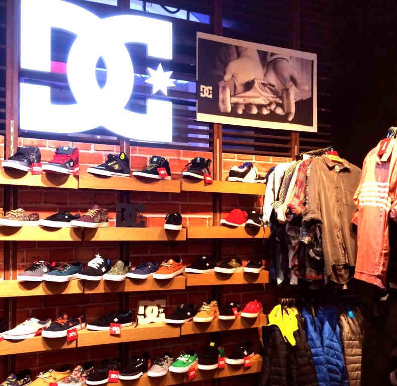 dc shoes store