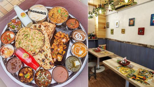 Try The Unlimited Super Se Upar Thali Nonas Kitchen So Delhi