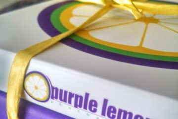 Purple Lemon packaging