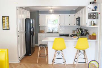 Our fresh, clean kitchen