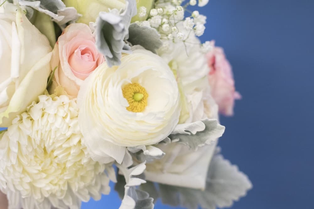 fresh wedding bridal bouquet in St. Louis MO
