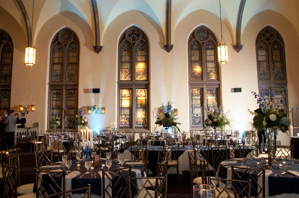 9th Street Abbey wedding reception venue