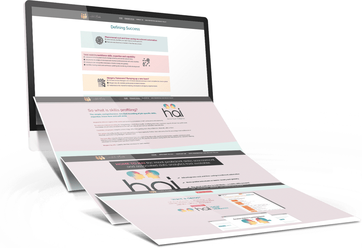 Campbell Birch International 3D Website Preview