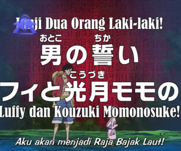 One Piece Episode 771 - Subtitle Indonesia