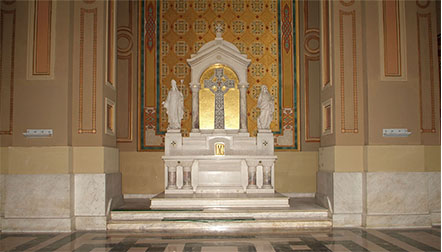 Chapel Of Our Lady Of The Blessed Sacrament At The