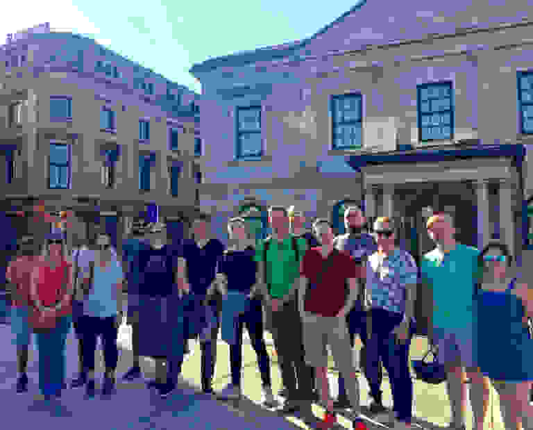 Dotall 2019 walking tour