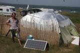 Солнечная батарея на базе виндсерферов и кайтеров