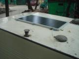 Солнечная батарея на крыше домика известного певца Евгения Осина