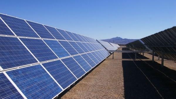 Путин запустил солнечную электростанцию