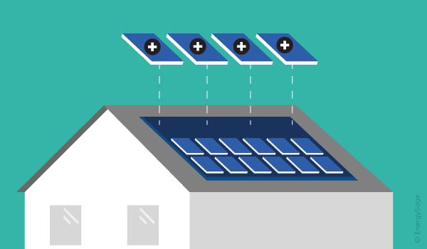 Увеличение мощности солнечной батареи