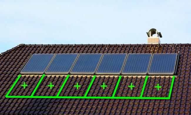 Наращивание мощности солнечных батарей на крыше - сначала проект
