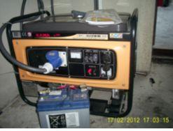 Как самому сделать отвод выхлопных газов генератора