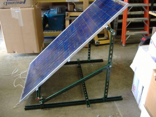 солнечная батарея не всегда выглядит красиво