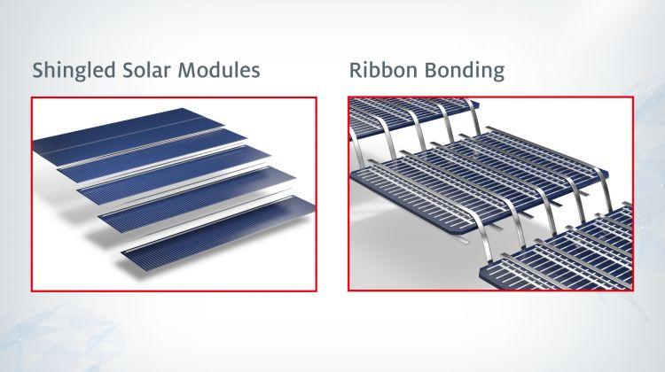 shingled vs ribbon soldered pv cells солнечные элементы,солнечные модули,солнечные батареи