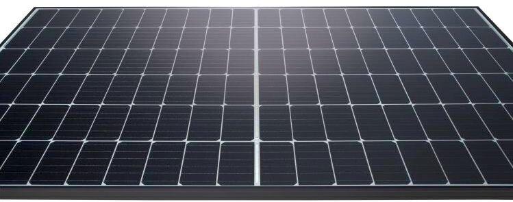 Солнечная панель из половинных солнечных элементов