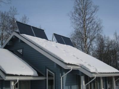 collectors roof winter snow 1 солнечные батареи зимой
