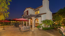 49 Hidden Trail  Prestigious Turtle Ridge Irvine With Forever Views! - Backyard Evening Shot
