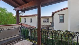 49 Hidden Trail  Prestigious Turtle Ridge Irvine With Forever Views! - Upstairs Bedroom Balcony