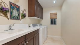 49 Hidden Trail  Prestigious Turtle Ridge Irvine With Forever Views! - Upstairs Laundry Room
