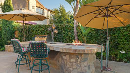 49 Hidden Trail  Prestigious Turtle Ridge Irvine With Forever Views! - Daytime Bbq Area