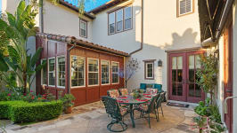 49 Hidden Trail  Prestigious Turtle Ridge Irvine With Forever Views! - Atrium At Sideyard Day Shot