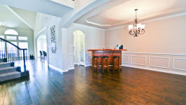 Beautiful Custom Built Home In Rockwall, Tx - Dining/Family Room Combo Provide Plenty Of Space For Entertaining.