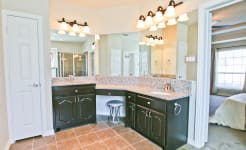 Beautiful Custom Built Home In Rockwall, Tx - Another View Of The Ensuite Master Bathroom.