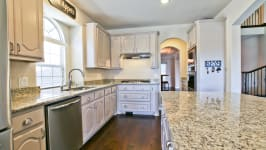 Beautiful Custom Built Home In Rockwall, Tx - Well Appointed Kitchen With Double Ovens, Gas Cooktop And Central Vac.