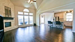 Beautiful Custom Built Home In Rockwall, Tx - Second Living Room And Kitchen.